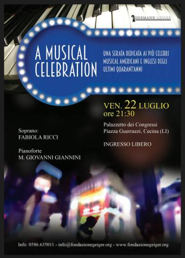 Foto A MUSICAL CELEBRATION CECINA LUGLIO 2016