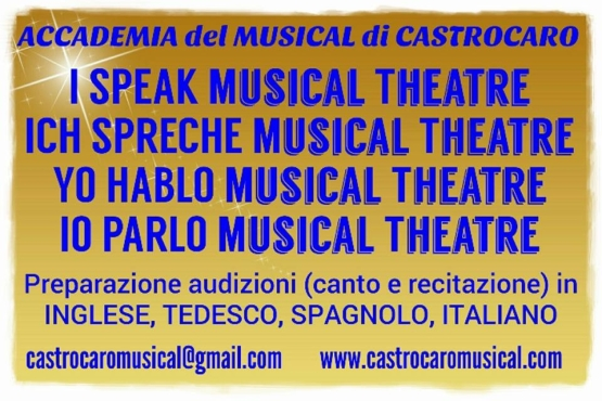 Foto I SPEAK MUSICAL THEATRE