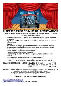 Foto Laboratori Teatrali Bambini MAGGIO 2015