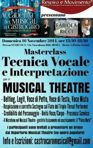 Locandina WORKSHOP ROMA NOVEMBRE 2014