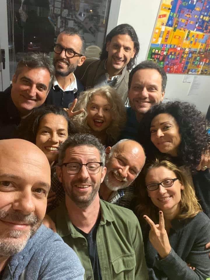 Foto RENT 2020 con Nicoletta, Jenny e Musicisti